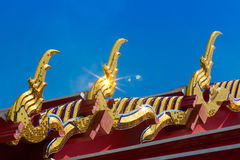 Wat pho roof Stock Photo