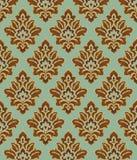 Golden decorative ornament royalty free illustration