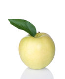 Golden Delicious Apple Stock Image