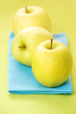 Golden delicious apples Royalty Free Stock Photography