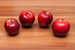 Golden delicious apples Stock Photos