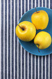 Golden Delicious apples Royalty Free Stock Photo