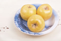 Golden Delious Apples Stock Image
