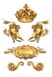 Golden  detail Stock Images