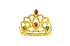 Golden diadem Stock Photo