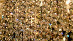 Golden diamond heap, stock footage