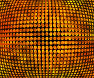Golden Disco Background Texture Stock Images