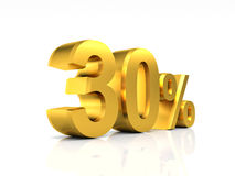 Golden 30 discount Stock Images