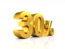 Golden 30 discount Stock Images