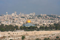 Golden Dom In Jerusalem. Royalty Free Stock Photography