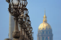 Golden Dome Stock Photography