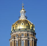 Golden dome Royalty Free Stock Image