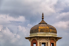Golden Dome. At the Agra Fort in India Royalty Free Stock Photo