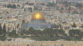 Golden Dome. Al Aqsa Mosque in Jerusalem Royalty Free Stock Images
