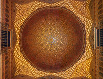 Golden Dome architecture, Real Alcazar, Seville, Royalty Free Stock Photo