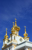 Golden dome of the cathedral. Against the blue sky Stock Photo