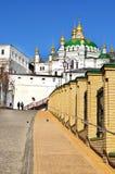 Golden dome of the church. Kiev - Pechersk Lavra. Royalty Free Stock Image
