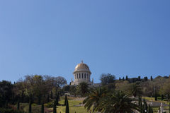 Golden Dome de Bahai Photos libres de droits