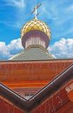 Golden Dome del templo fotos de archivo libres de regalías