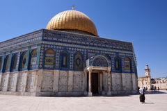 He Golden Dome Mosque Stock Photo