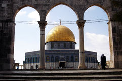 The Golden Dome Mosque Stock Images