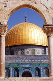 The Golden Dome Mosque Royalty Free Stock Images