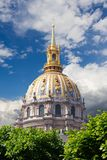 National Residence of the Invalids Les Invalides Royalty Free Stock Photography