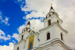 Golden Dome Of The Orthodox Church Royalty Free Stock Image