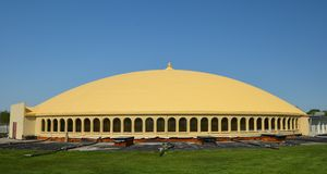 Golden Dome of Pure Knowledge Royalty Free Stock Photography