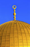 Golden Dome of the Rock Islamic Mosque Temple Mount Jerusalem Is Stock Images