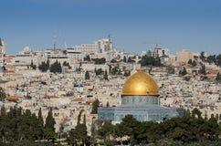 Golden dome of the Rock. Jerusalem stock photos