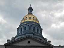 Golden Dome Rocky Mountainss lizenzfreies stockfoto