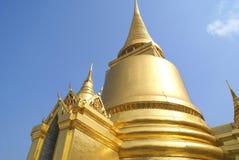 Golden dome. roof. Wat Phra Kaew, Bangkok, Thailand Stock Image