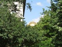 Golden Dome tittar royaltyfria foton