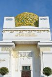 Golden dome of Vienna Secession building Royalty Free Stock Image