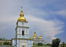 Golden-Domed Monastery of St. Michael in Kiev. Ukraine Royalty Free Stock Photo
