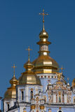 Golden domes Royalty Free Stock Images
