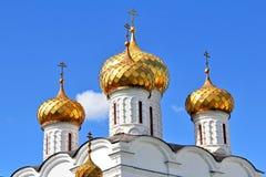 Golden domes Stock Photo