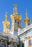 Golden domes of the Church of the Resurrection of Christ Royalty Free Stock Images