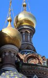 Golden domes Royalty Free Stock Image