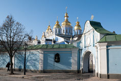 The golden domes of Kyiv Stock Photos