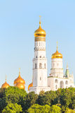 Golden domes of Orthodox churches Royalty Free Stock Image