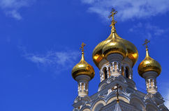 Golden domes Royalty Free Stock Photography