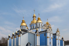 Golden domes Stock Photography