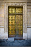 Golden door Stock Images