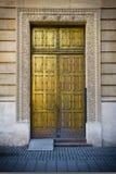Golden door Stock Images