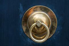 Golden Door Handle Stock Photo