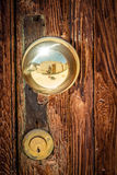 Golden door knob Stock Photos