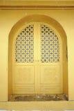 Golden door of  temple  at MT.Emei Stock Image