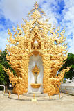 Golden door Royalty Free Stock Image